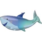 Supershape Shark Foil Balloon P35 packaged