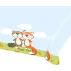 Tablecover Fox & Beaver Paper 115 x 175 cm