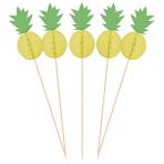 10 Picks Pineapple Vibes Honeycombs Wood 19 cm