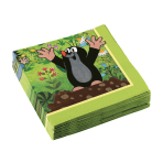 20 Napkins Little Mole 33 x 33 cm