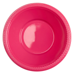 10 Bowls Plastic Magenta 355 ml
