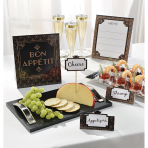 Buffet Decoration Kit Glitz & Glam 9 Parts Paper / Wood