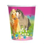 8 Pretty Pony Cups Paper 250 m