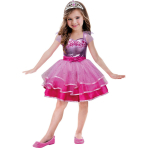 Girls' Costume Barbie Ballet 5- 7 Years