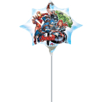 "Mini Shape ""Avengers"" Foil Balloon A30, airfilled, 25 x 27 cm"