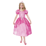 Girls' Costume Barbie Pastel Glitter Ballgown 8 - 10 Years