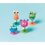 12 Creature Pop-ups Plastic 5 cm