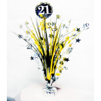 Spray Centrepiece 21 Sparkling Celebration Gold Foil / Paper 45.7 cm