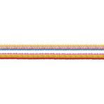 4 Garlands Coloured Rims Paper 8 x 200 cm