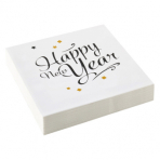 20 Napkins Golden Wishes 33 x 33 cm
