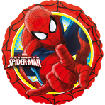 Standard Spider-Man Ultimate Foil Balloon S60 Packaged 43 cm
