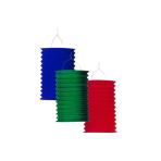 Drop Lantern Single-Coloured Paper Assorted 28 cm