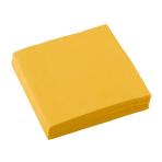 20 Beverage Napkins Sunshine Yellow 25 x 25 cm