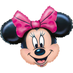 Mini Shape Minnie Mouse Foil Balloon A30 Bulk