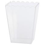 Bowl Plastic Rectangular Large 15.4x 12.7 x 19.5 cm