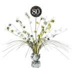 Spray Centrepiece Sparkling Celebration age 80