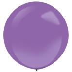 "4 Latex Balloons Decorator Standard New Purple 61 cm / 24"""