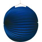 Lantern Blue Paper 25 cm