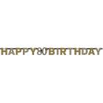 Letter Banner Sparkling Celebration age 80 Prismatic