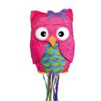 Pull Pinata Owl Paper / Plastic 33.6 x 48.8 x 15.8 cm