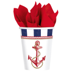 8 Cups Anchors Aweigh Paper,  266 ml