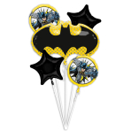 Bouquet Batman Foil Balloon P75 Packaged