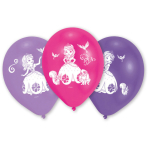 10 Latex Balloons Sofia the First 25.4 cm/10''