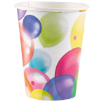 8 Cups Balloons Paper 250 ml