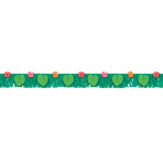 Banner Fringes Tropical Jungle Paper 178 cm