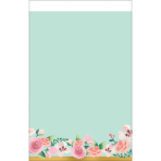 Tablecover Mint To Be Paper 137 x 259 cm