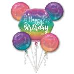 Bouquet Sparkle Foil Balloon P75 Packaged