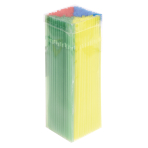 100 Drinking Straws Summer 24 cm
