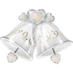 SuperShape Wedding Bells Foil Balloon P35 Packaged