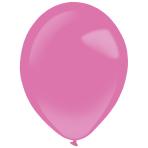 "50 Latex Balloons Decorator Fashion Hot Pink 35 cm / 14"""