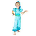 Child Costume Shine Age 8-10 Years