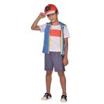 Child Costume Pokemon Ash 4 - 6 Years
