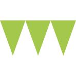 Pennant Banner Kiwi Green Paper 457 x 17.7 cm