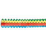 2 Garlands Mini Bright Rainbow Paper 8 x 200 cm
