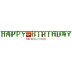 Letter Banner TNT Party Paper Personalizable 320 x 25.4 cm