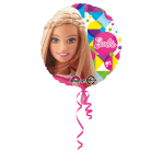 Standard Barbie Sparkle Foil Balloon Round S60 Packaged 43 cm