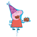 """SuperShape """"Peppa Pig"""" Foil Balloon P38 packed 76 x 83cm"""