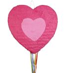 Pull Pinata Heart Paper 49.4 x 47.9 x 9.3 cm