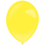 "50 Latex Balloons Decorator Standard Yellow Sunshine 35 cm / 14"""