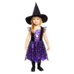 Child Costume Peppa Purple Dress Age 3-4 Years