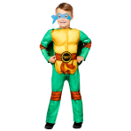 Child Costume TMNT Boys Deluxe Age 3-4 Years