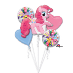 "Bouquet ""Pinkie Pie"" 5 Foil Balloons, P75, packed"