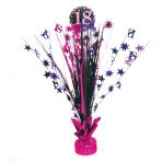 Spray Centrepiece 18 Sparkling Celebration - Pink Foil / Paper 45.7 cm