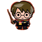 Supershape Harry Potter Foil Balloon, P38 packaged