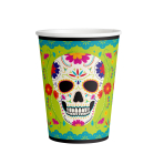 8 Cups Paper Day Of The Dead 2021 Paper 250 ml