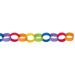 Chain Link Garland Rainbow 390cm